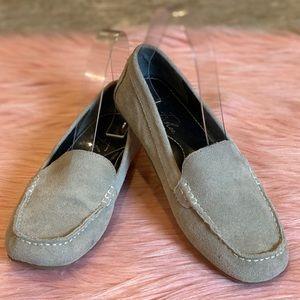 Marc Fisher Katherine Moc Suede Loafer Size 7M